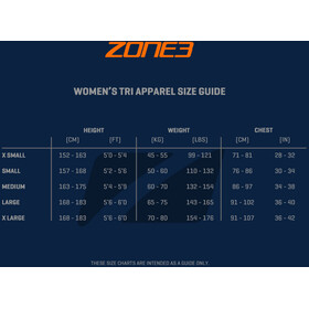 Zone3 Lava SS Aero Trisuit Women hawaii print